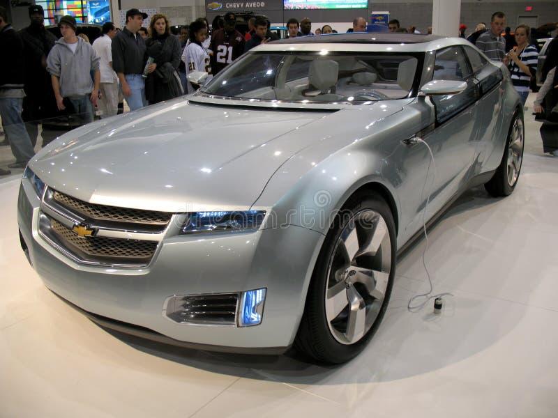 Carro do conceito do volt de Chevrolet fotografia de stock royalty free