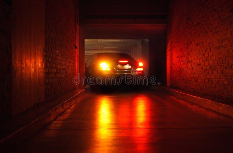 Carro do estacionamento fotografia de stock royalty free