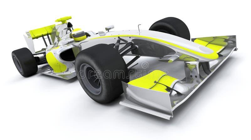 Carro do Fórmula 1 ilustração royalty free