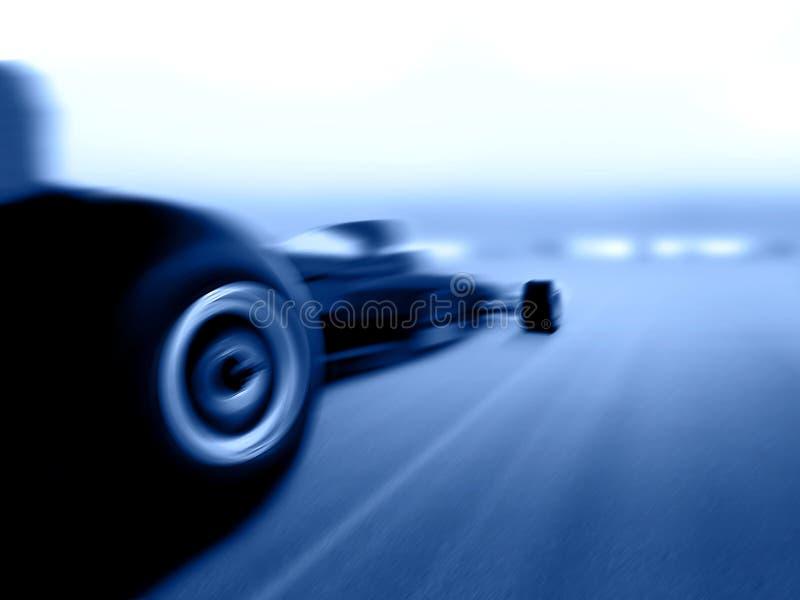 Carro do Fórmula 1 ilustração do vetor