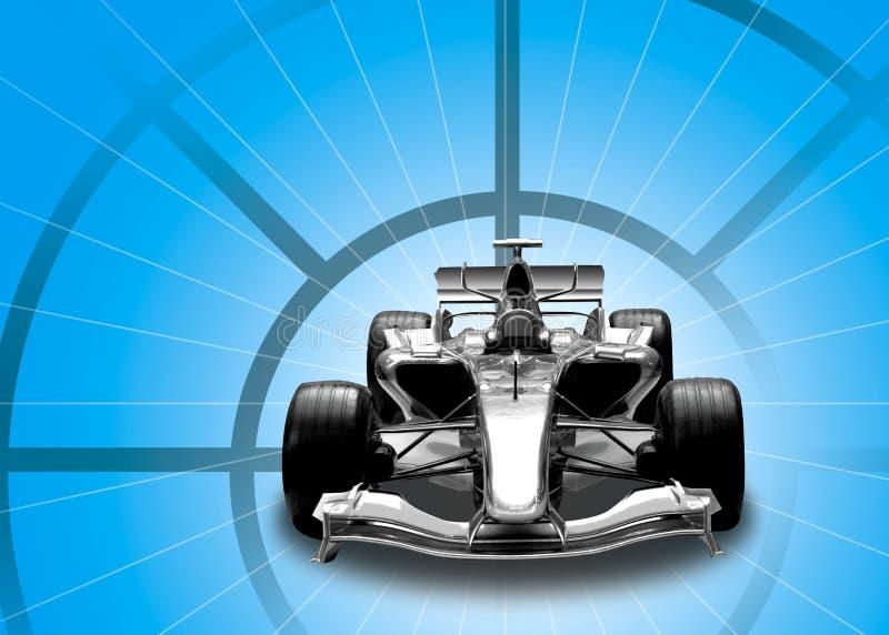 Carro do Fórmula 1 ilustração stock