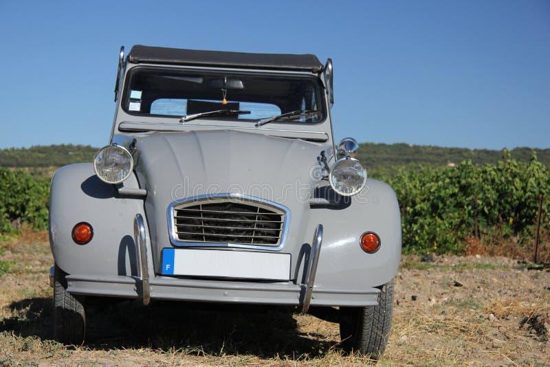 Carro do francês do vintage imagem de stock royalty free