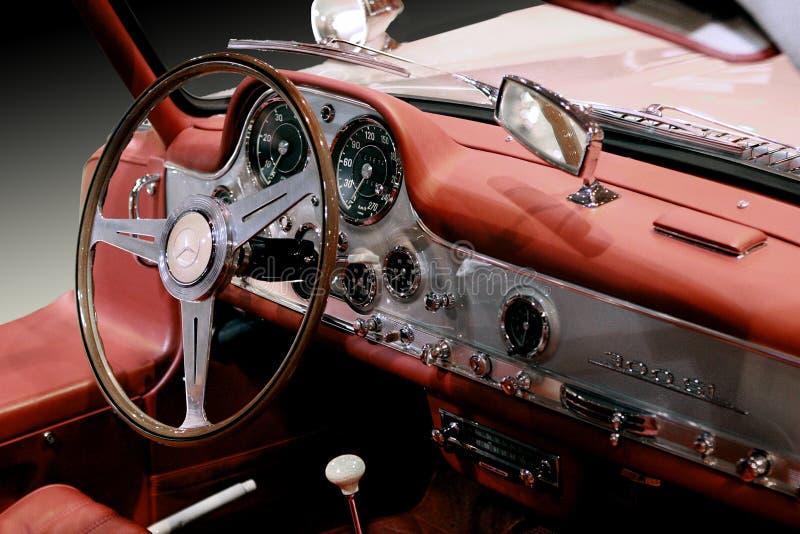 Carro do luxo de Mercedes Benz 300 SL 1955 foto de stock