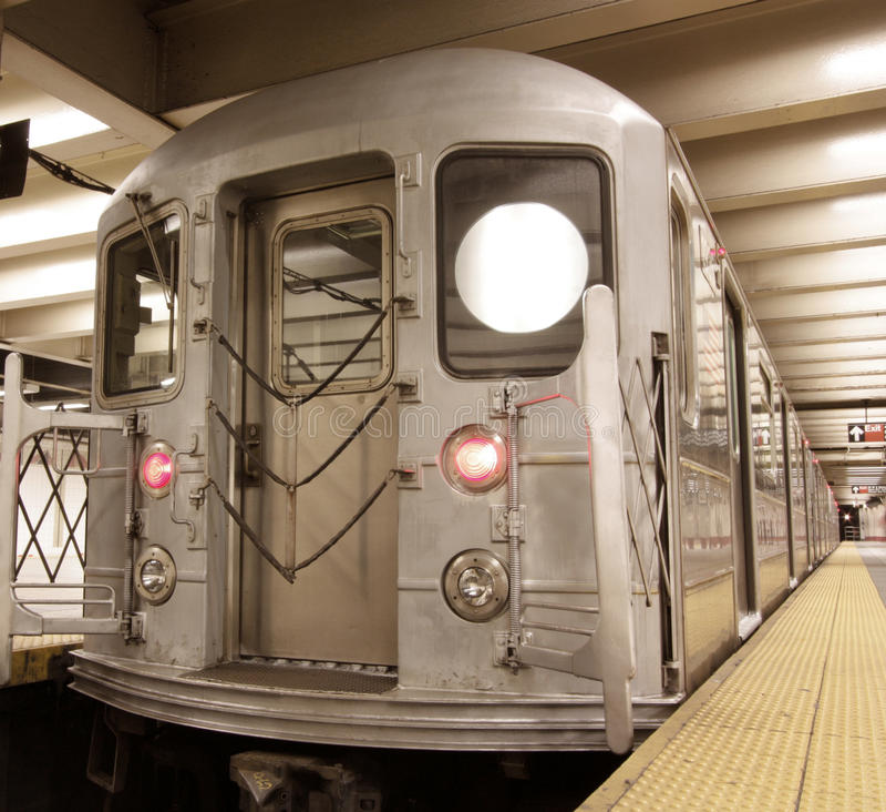 Carro do metro imagem de stock royalty free