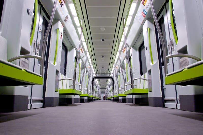 Carro do metro imagens de stock
