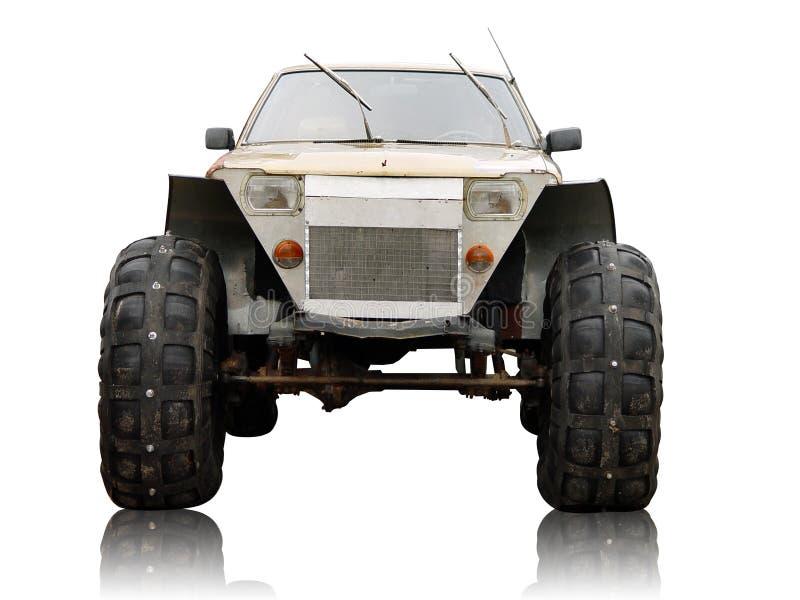 Download Carro do monstro imagem de stock. Imagem de tyre, dissipador - 541733