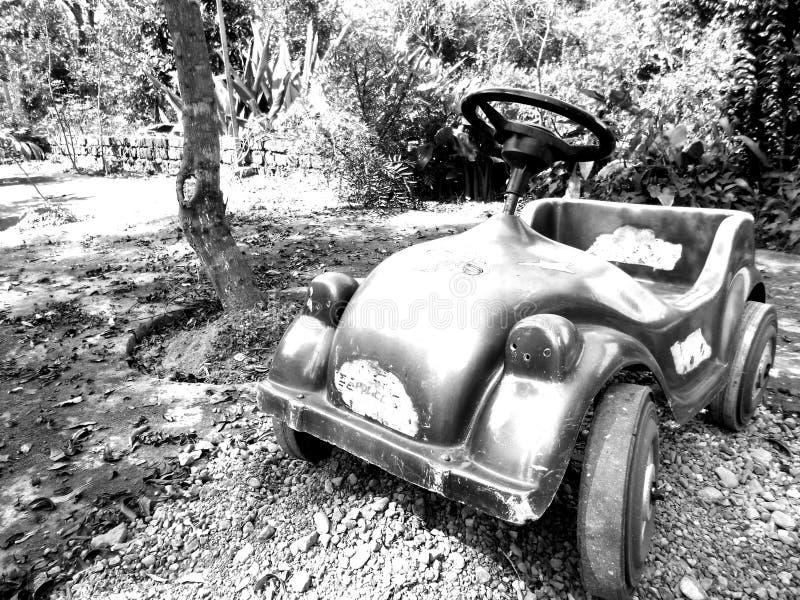 Carro do pedal foto de stock