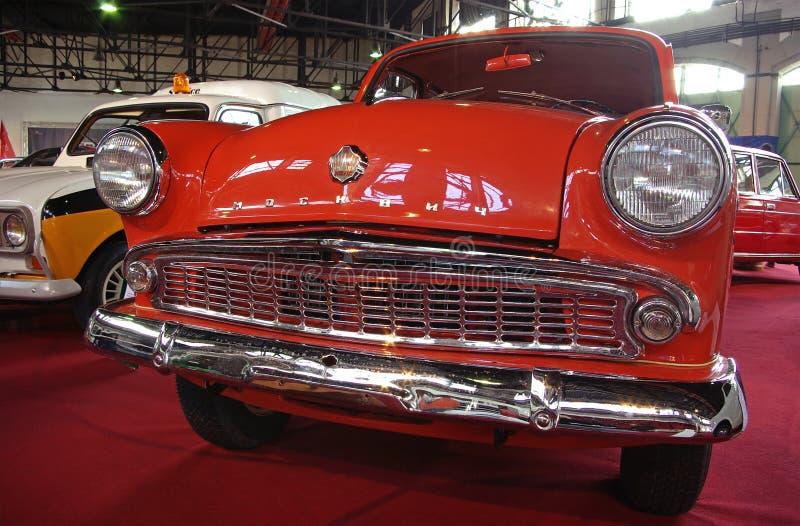 Carro do soviete do vintage imagem de stock royalty free