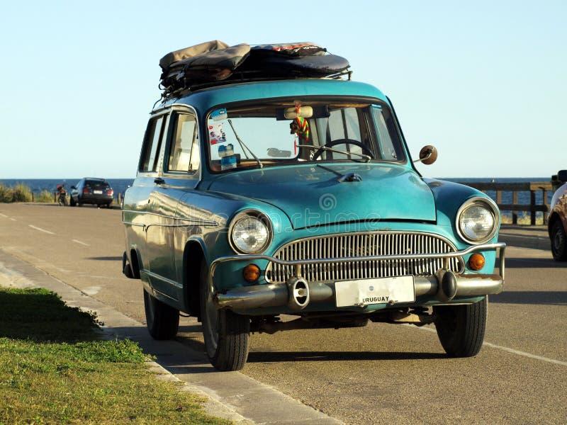 Carro do surfista fotos de stock