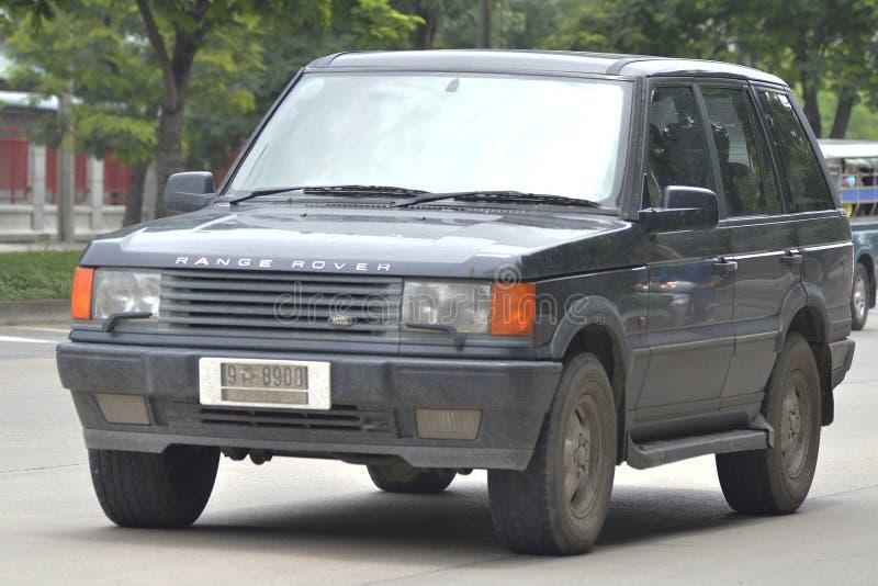 Carro do suv de range rover fotografia de stock