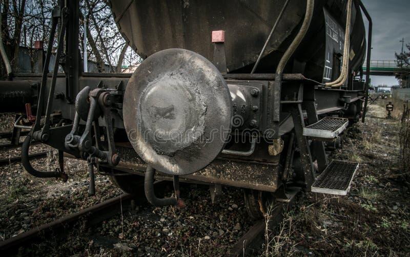 Carro Do Tanque Ferroviário fotos de stock royalty free