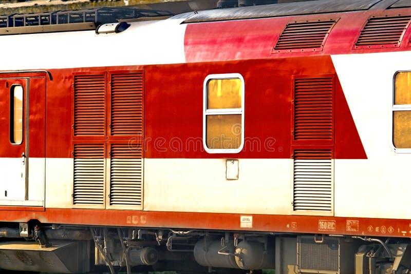 Carro do trem fotografia de stock royalty free