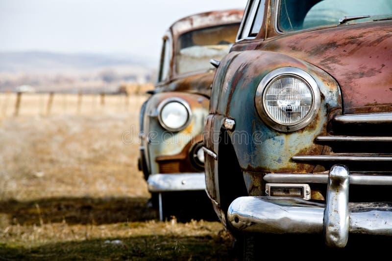 Carro do vintage fotos de stock royalty free
