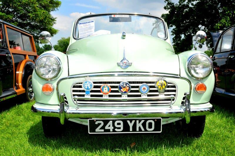 Carro do vintage de Morris imagem de stock