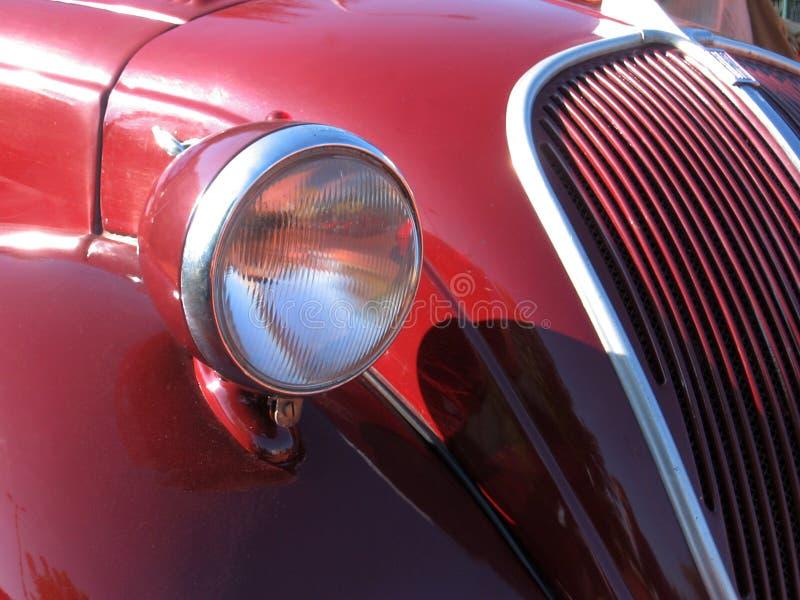 Carro do vintage - detalhe fotografia de stock