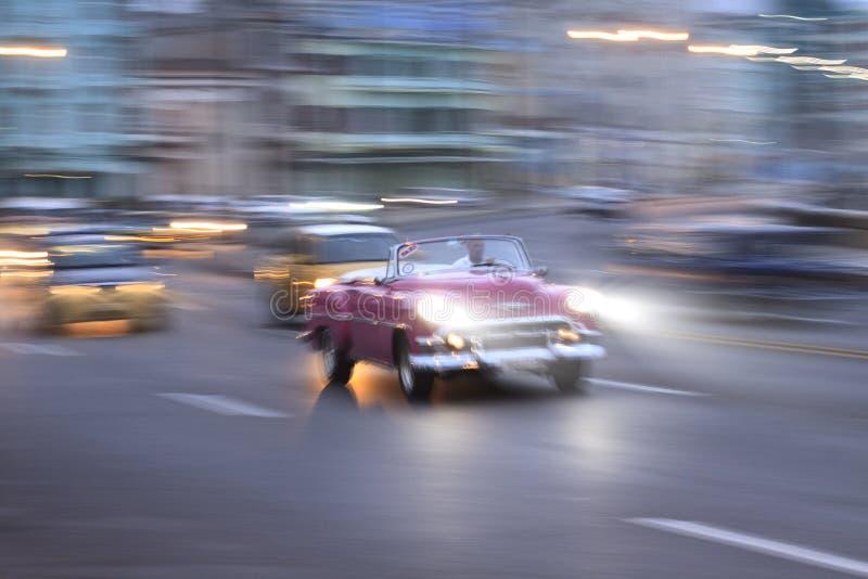 Carro do vintage, Havana Fantasy imagens de stock royalty free