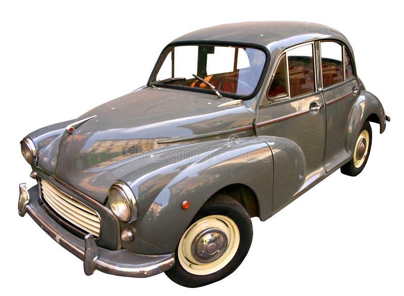 Carro do vintage isolado no branco fotos de stock royalty free