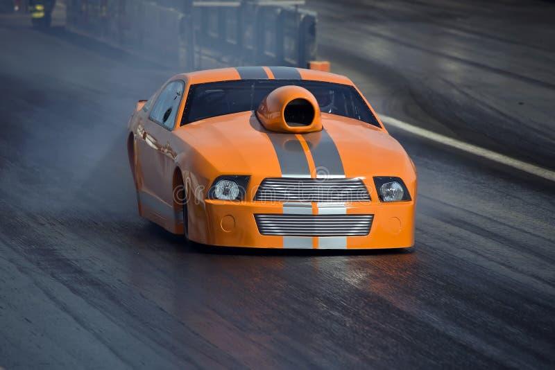 Carro - Dragster imagens de stock