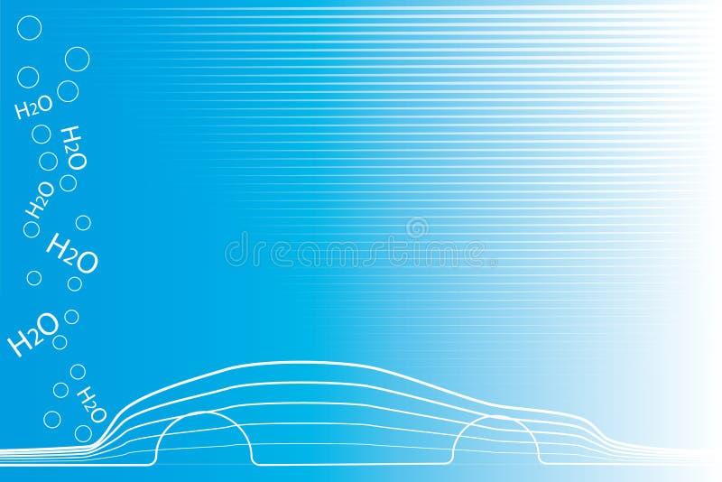Carro Eco-friendly ilustração royalty free