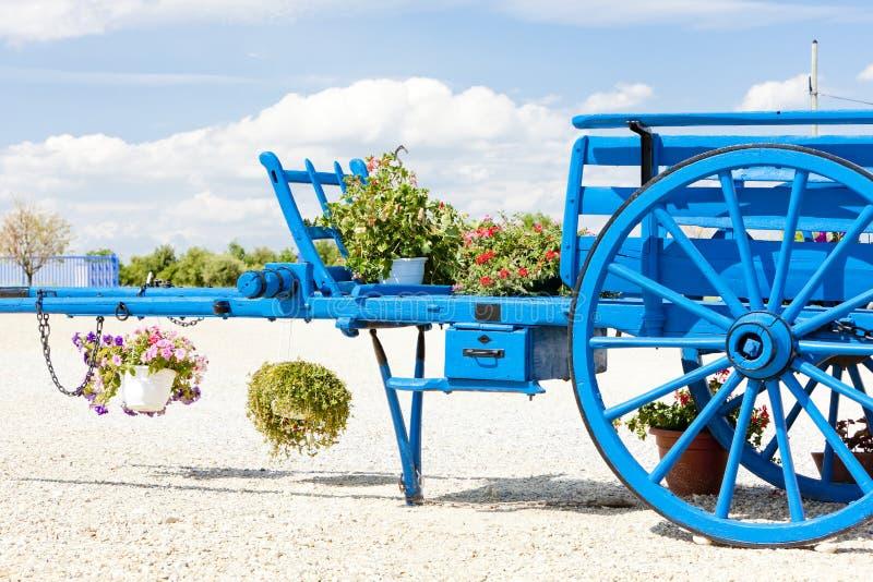 Carro em Provence fotografia de stock royalty free