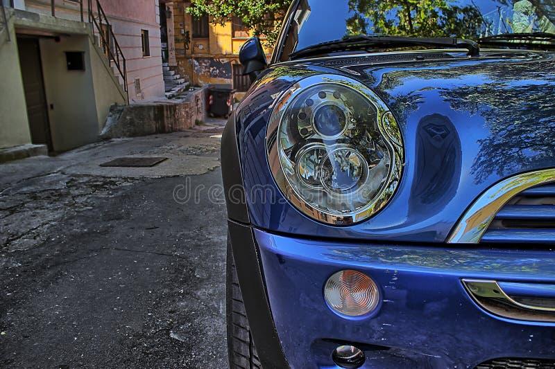 Carro estacionado foto de stock royalty free