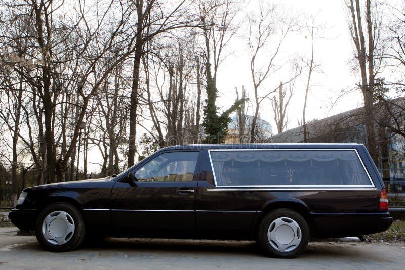 Carro fúnebre fotos de stock