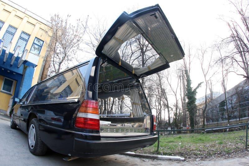 Carro fúnebre fotografia de stock royalty free
