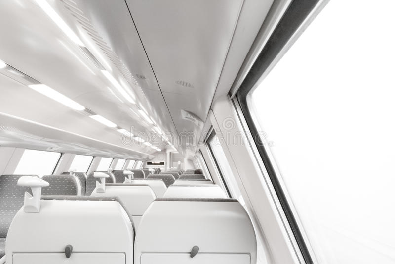 Carro ferroviario moderno fotos de archivo libres de regalías