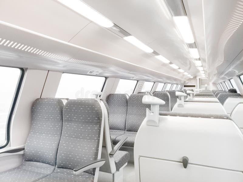 Carro ferroviario moderno foto de archivo libre de regalías