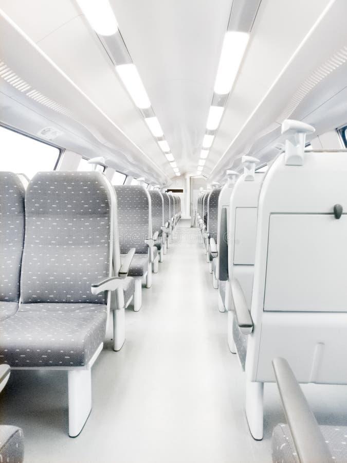 Carro ferroviario moderno imagen de archivo libre de regalías