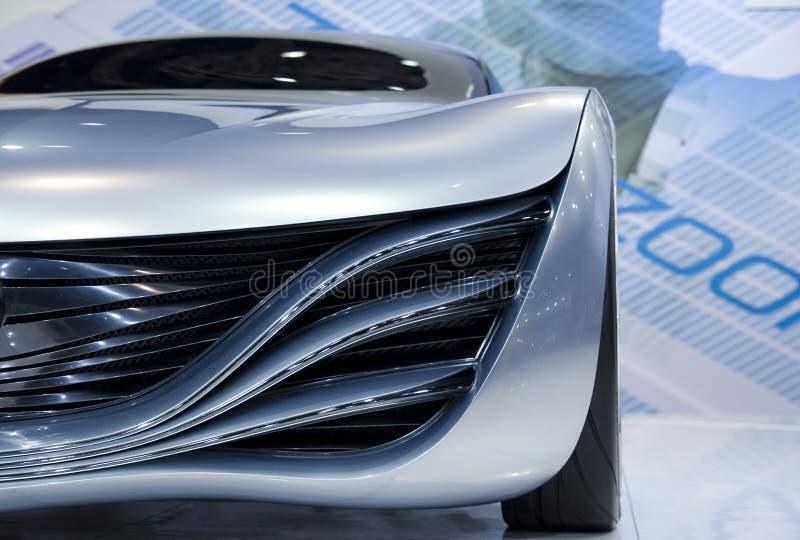 Carro futurista do conceito foto de stock