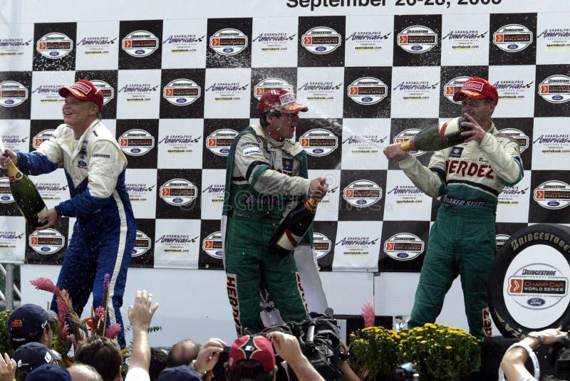 CARRO 2003 Grand Prix Americas fotografia de stock