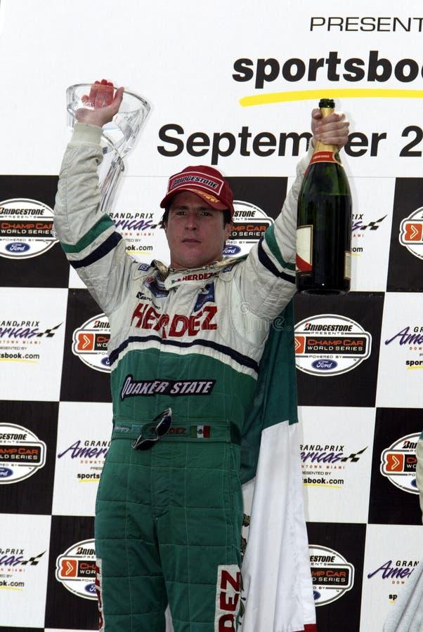CARRO 2003 Grand Prix Americas foto de stock royalty free