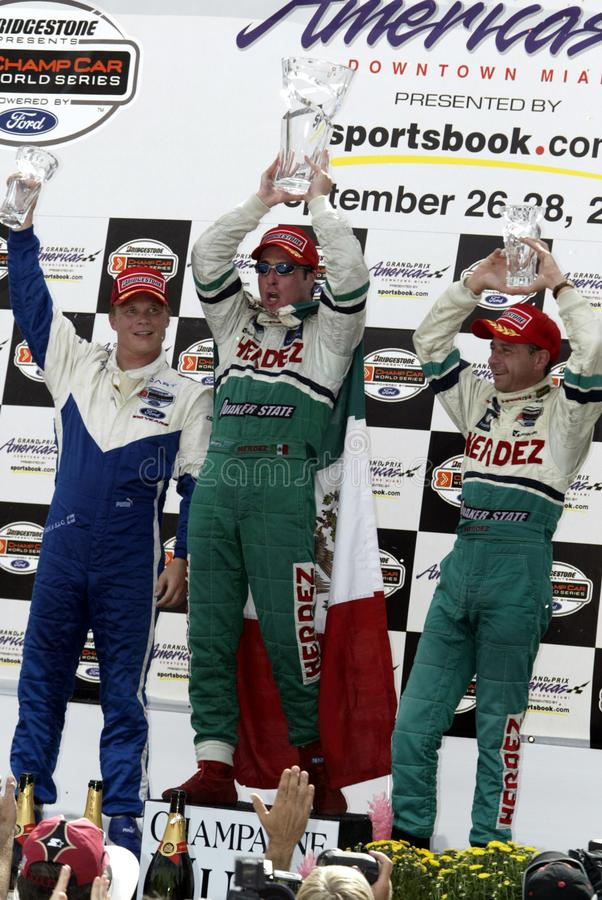 CARRO 2003 Grand Prix Americas imagem de stock