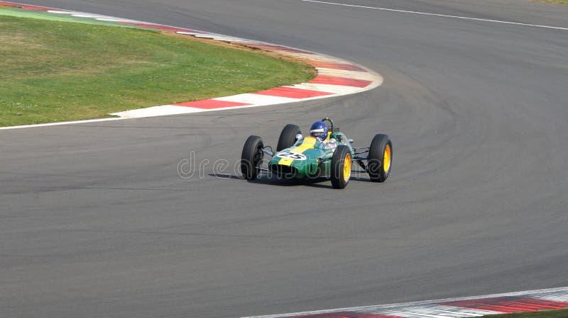 Carro grande de Prix da fórmula 1 do clássico de Lotus 25 fotos de stock royalty free