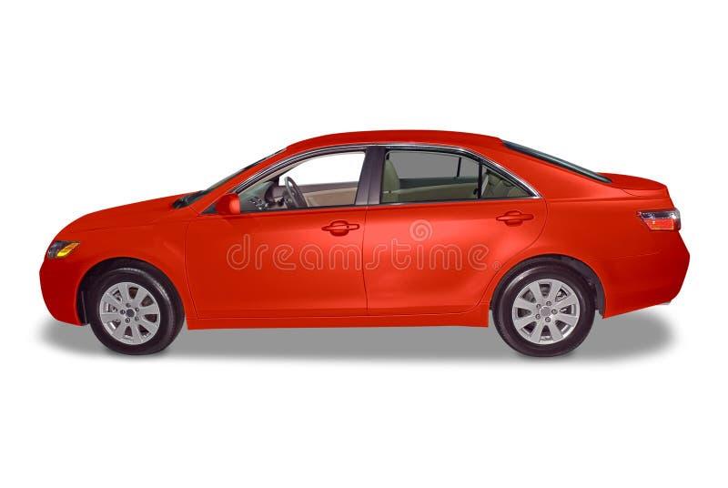 Carro híbrido novo do sedan fotos de stock