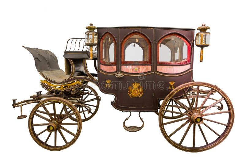 Carro histórico viejo ilustración del vector