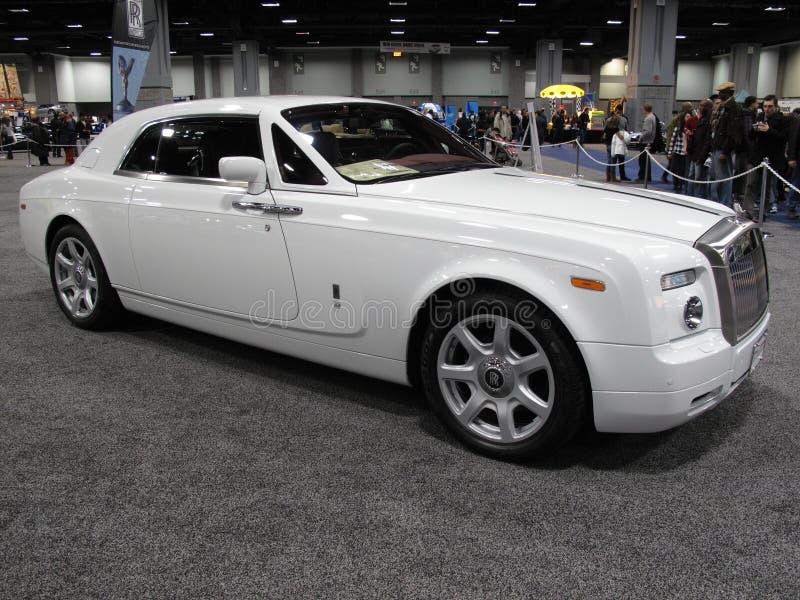 Carro ideal de rolls royce fotografia de stock royalty free