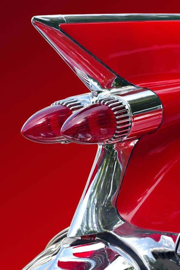 Carro ideal vermelho fotografia de stock