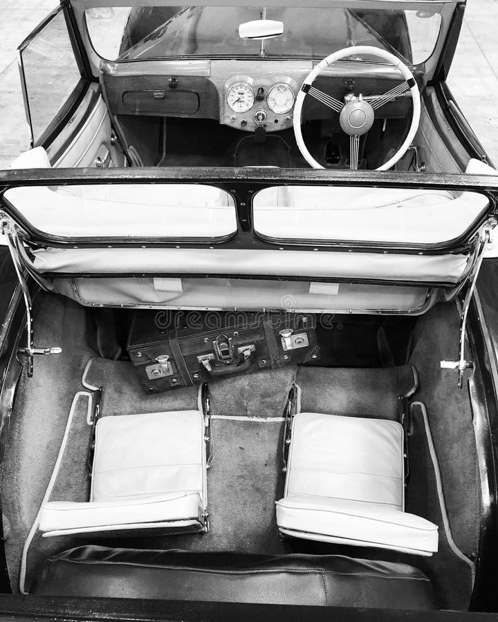 Carro interior imagem de stock