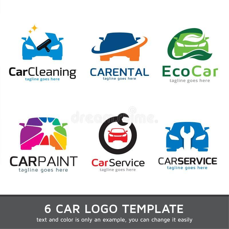 Carro Logo Template Design Vetora ilustração do vetor