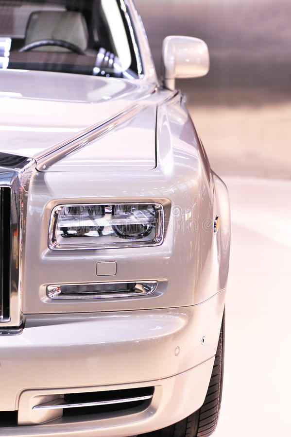 Carro luxuoso fotografia de stock royalty free