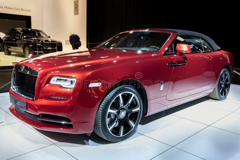 Carro luxuoso de Rolls Royce Dawn imagens de stock royalty free