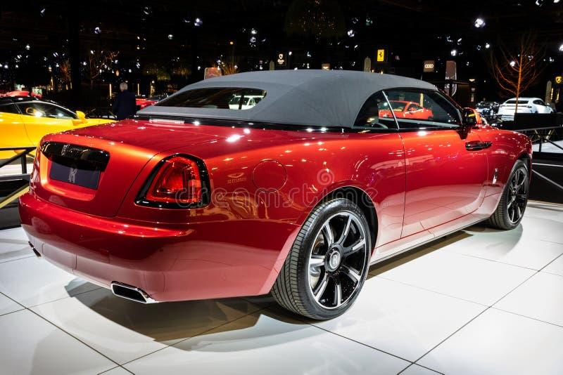 Carro luxuoso de Rolls Royce Dawn imagem de stock royalty free
