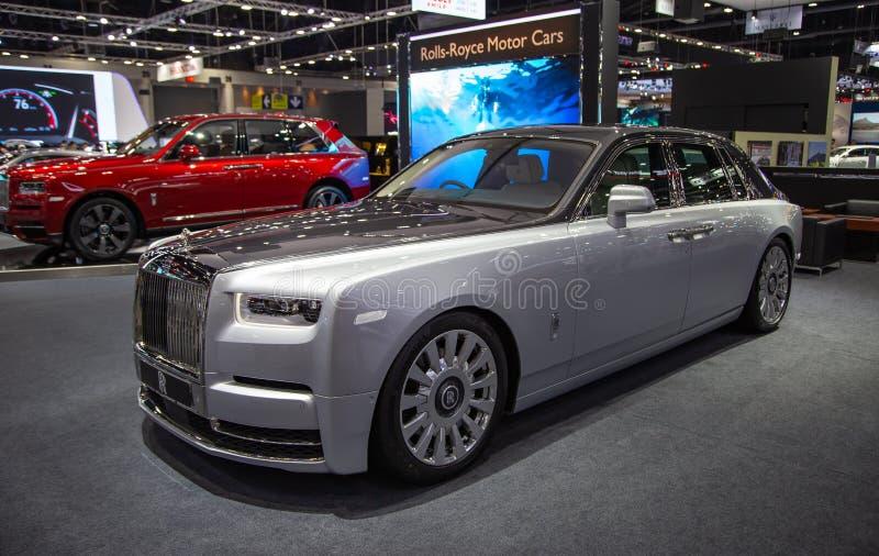 Carro luxuoso de Rolls Royce Phantom imagem de stock royalty free