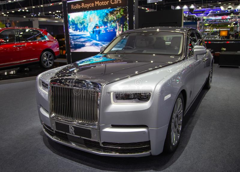 Carro luxuoso de Rolls Royce Phantom imagens de stock royalty free