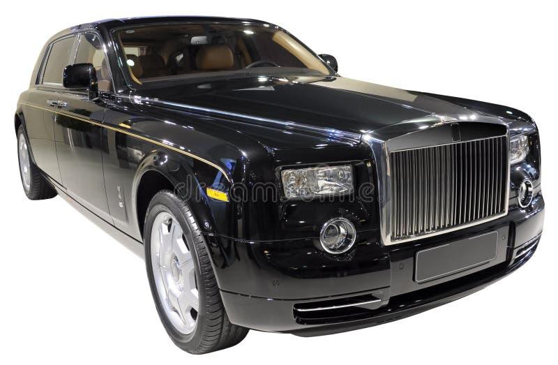 Carro luxuoso isolado fotos de stock royalty free