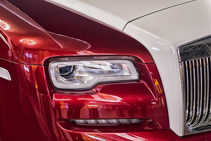 Carro luxuoso Rolls Royce fotografia de stock