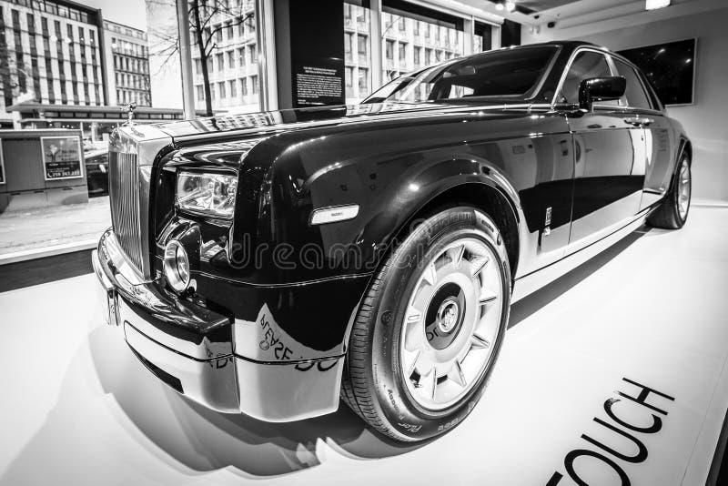 Carro luxuoso sem redução Rolls-Royce Phantom VII imagens de stock royalty free