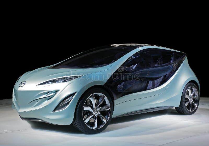 Carro Mazda do conceito imagens de stock
